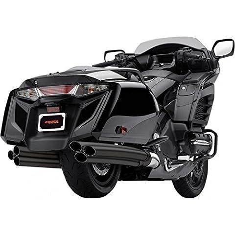 Cobra 6into 6Slip On Mufflers Black Honda 1217b–Cobra 18112586
