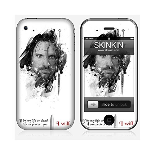 Sticker iPhone 5C de chez Skinkin - Design original : Shadow Aragorn par Julien Kaltnecker Skin iPhone 3