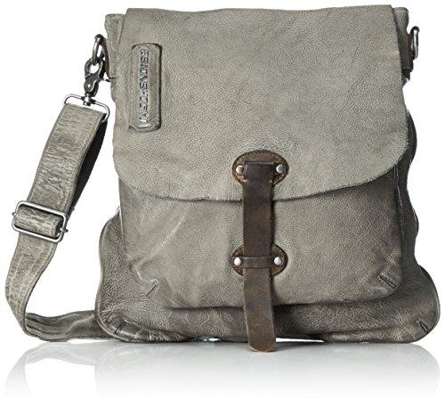 Taschendieb Damen Td0802 Umhängetasche, 1x26x22 cm Grau (Light Grey)