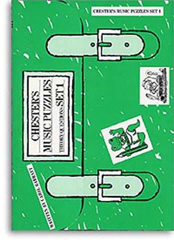 Chester's Music Puzzles Set 1, Carol Barratt (Primary School Theory)