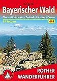 Bayerischer Wald: Cham – Bodenmais – Zwiesel – Freyung – Passau. 54 Touren. Mit GPS-Daten (Rother Wanderführer)