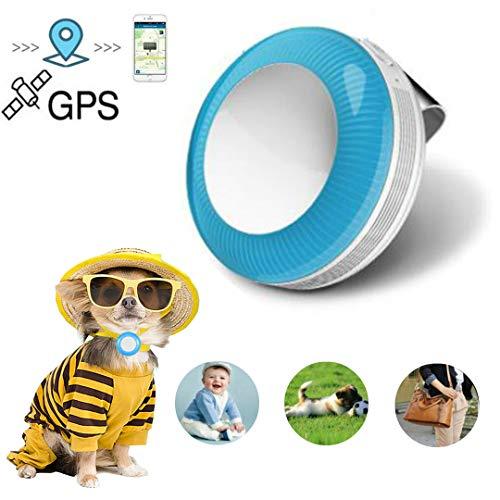 GPS Tracker, Geofencealer, kostenlose App, wasserdichte Schnellhalterung mit leistungsstarkem Magnet und 5000mAh Akku für präzise Positionierung für Auto und Boot Localysator Gps
