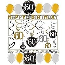 Suchergebnis Auf Amazon De Fur 60 Geburtstag Deko
