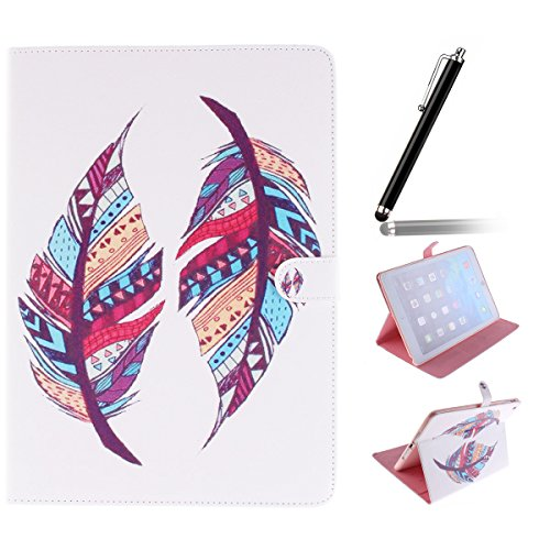 Ipad Mini Wallet Cover, Ipad Mini Flip Leather Case Back Cover,Ukayfe Stand Function PU Leather Case Premium Soft Slim Cover Bookstyle with Magnet Closure for Apple Ipad Mini /Ipad Mini 2 /Ipad Mini 3 Piuma Tribal#1