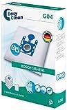 EasyClean EC-.G04 Sac d'Aspirateur Bosch/Siemens Type G 6,4 x 16,5 x 23,5 cm