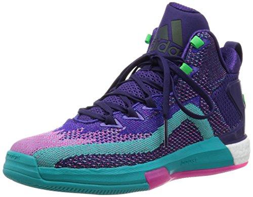 Adidas Originals J WALL 2 BOOST PRIMEKNIT Scarpe Sneakers Porpora per Uomo
