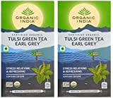 Best Organic Earl Grey Tea - Organic India Tulsi Green Tea Earl Grey 25 Review