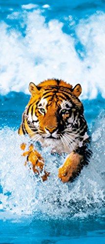 REINDERS Bengal Tiger - Poster 86 x 200 cm (Welle Tiger)