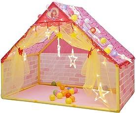 Zhao Haushalts-Spiel-Haus, Kind-Zelt-Haus Innenaußenjungen-Mädchen-Haus-Schloss-Spalt-Bett-Artefakt 133 * 90.5 * 106CM