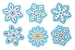 Creative Teaching Press Snowflakes Stickers (4119)