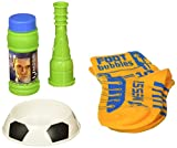 Leo Messi FootBubbles Starter Pack - practice your soccer juggling skills with these bubbles designed to be juggled with your feet like a soccer ball. Imitate Messi's soccer juggling with FootBubbles