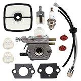 Busirde Carburateur pour Echo HC1500 Taille-Haies 12520005962 pour Zama C1U-K51-K52...