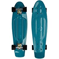 Ridge Skateboards Skateboard Mixte Adulte, Bleu, 27""