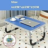 JINSHENG klapptisch Nan Bambus Kleine Schreibtisch - Computer - Tisch,60 * * 28.