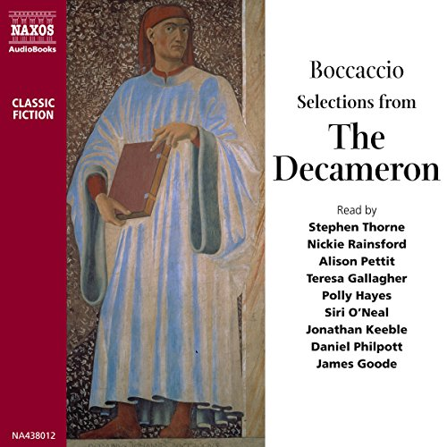 Selections from The Decameron  Audiolibri