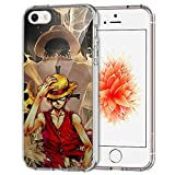 iPhone SE Coque,iPhone 5S Coque,iPhone 5 Coque, [JFGGLFDO000020] Transparent Clair...