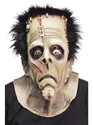 Deluxe Frankenstein Maske - Deluxe Halloween Frankenstein