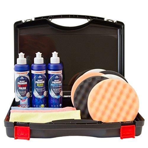 menzerna Marine Set mit Politur und Versiegelung im Koffer