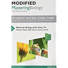 Molecular Biology of the Gene Modified Masteringbiology With Pearson Etext Standalone Access Card
