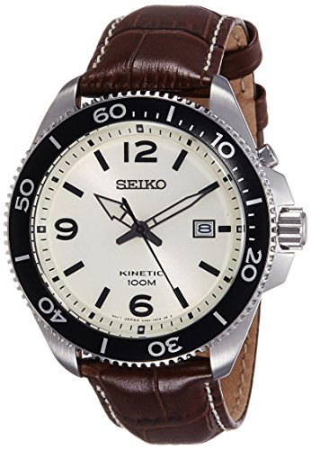 Quarz Uhr mit Leder Armband SKA749P1 ()