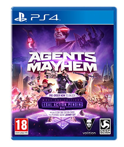 Agents of Mayhem: Day One Edition (Playstation 4) [UK IMPORT]