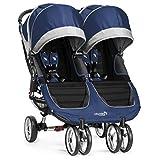 Baby Jogger City Mini Kinderwagen, doppelt, kobalt/grau