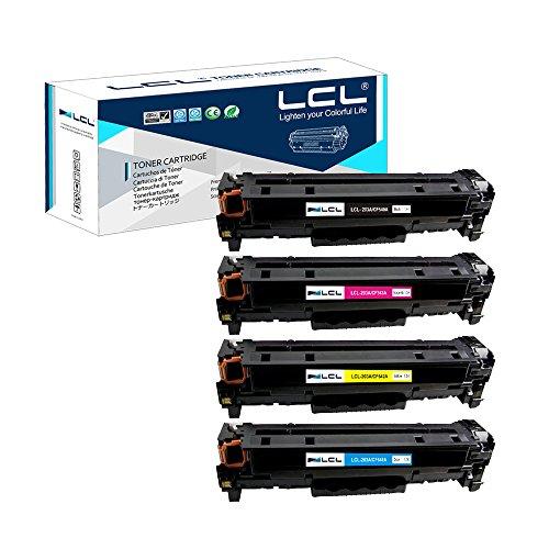 LCL Compatible Cartuchos Tóner 203A CF540A CF541A