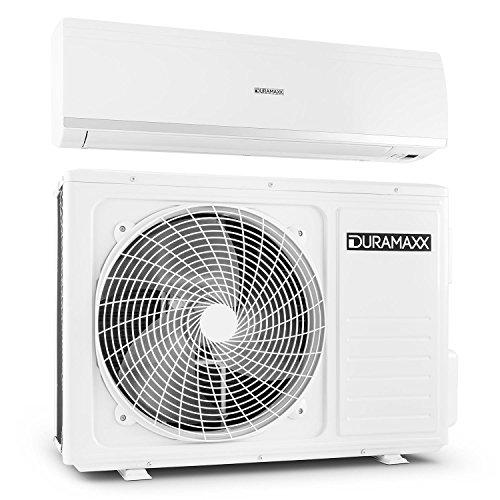 Duramaxx Maxxcool 12000 Inverter Klimaanlage Split Klimagerät zum Kühlen und Heizen (EEK: A+, 12000 BTU Splitgerät, integr. Luftfilter und Luftentfeuchter, Fernbedienung, leise 50dB) weiß