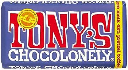 Tony's Chocolonely Dunkele Vollmilchschokolade Bretzel-Toffee 180g