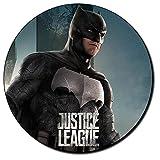 La Liga De La Justicia Batman Justice League Ben Affleck Tapis De Souris Ronde Round Mousepad PC