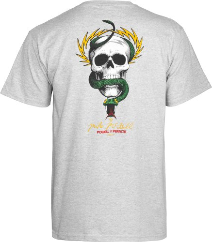 maikeer McGill Skull and Snake T-Shirt Mehrfarbig