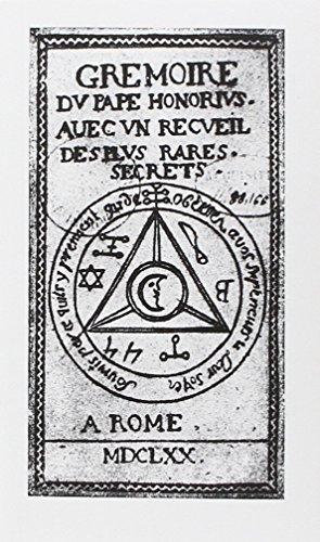 Grimoire du pape Honorius : Avec un recu...