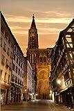 Poster 20 x 30 cm: Notre Dame de Strasbourg von Editors
