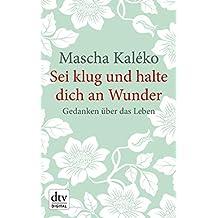 Suchergebnis Auf Amazonde Für Mascha Kaleko Gedichte