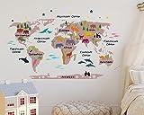 ZUNTO globus sticker Haken Selbstklebend Bad und Küche Handtuchhalter Kleiderhaken Ohne Bohren 4 Stück