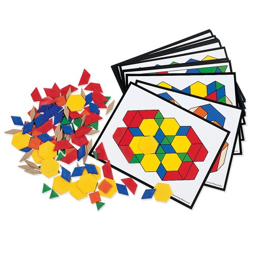 LEARNING RESOURCES   JUEGO EDUCATIVO CON TARJETAS SOBRE FORMAS GEOMETRICAS