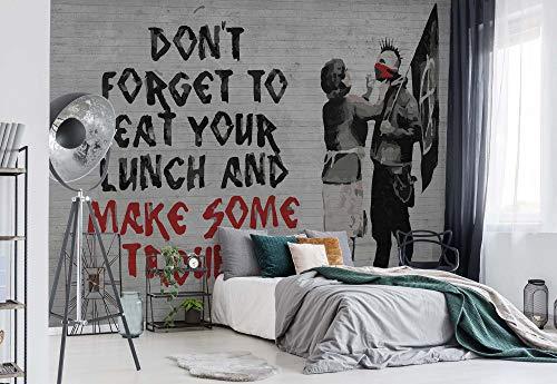 Banksy Graffiti Papel pintado fotográfico-cuadro