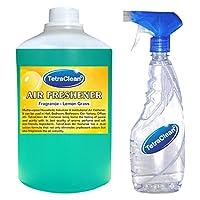 Tetraclean Multipurpose Lemon Grass Fragrance Air Freshener With Free Spray Bottle(1100ml)