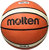 molten Basketball, Orange/Ivory, 3, BGR3-OI