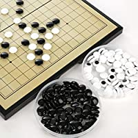 Dedeka Go Game - Go Chess Board Game Set, Tournament, Game board, Magnetic Fold Gobang, Fantastic Board Game of Strategy