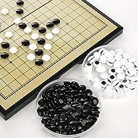 Go & Go Bang - Juego de Estrategia, Juegos de ajedrez Go, Juegos de ajedrez de cerámica Juego de Mesa fantástico Juegos de Viaje para Principiantes y Jugadores de Go
