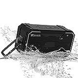 Zosam Waterproof Bluetooth Speaker Portable HiFi 10W Rich Bass HD Stereo Sound Wireless