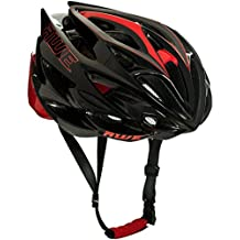 AWE AWESpeed In Mould Casco de Ciclismo en Ruta para Hombres Adultos 58-61cm Negro