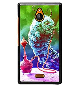 Aart Designer Luxurious Back Covers for Nokia X2 + 3D F2 Screen Magnifier + Mini Selfie Stick and Portable Mini 16 LED, 3.5mm Jack, Selfie Enhancing Flash Light by Aart Store.