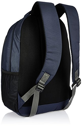 Amazon Brand - Solimo Travel Backpack (29 litres, Midnight Blue & Steel Gray) Image 3