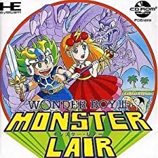 WONDER BOY III MONSTER LAIR, PC ENGINE CD, GIAPPONESE/JAP/IMPORT/JP