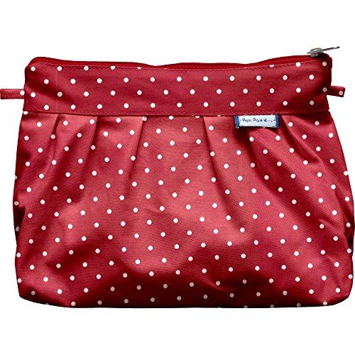 Papa Pique et Maman Coud Tasche, plissiert Pois rouge