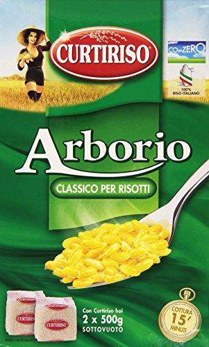 Curtiriso Riso Arborio - Mittelkorn-Reis für Risotto, 1er Pack (1 x 998 g)