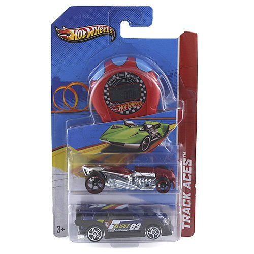 Hot Wheels G2960 - Pack 2 Vehiculos + Crono, Mattel (surtido)