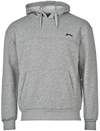 Slazenger Hommes Polaire Hoody Manche Longue Casual Sweat À Capuche Sweater Pull
